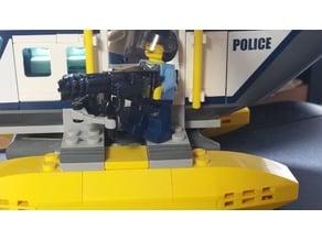 LEGO Minigun with Handles
