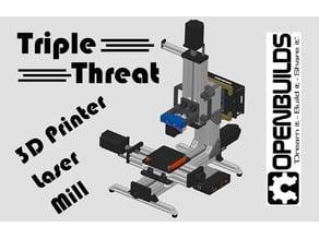 OpenBuilds MiniMill - Triple Threat Conversion