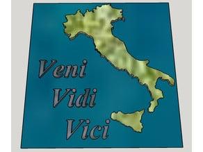 Veni Vidi Vici - Targa Italiana