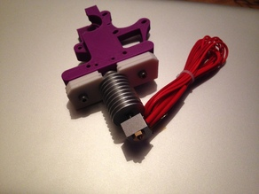 GeeTech All Metal Hot End Adapter For Gregs Extruder