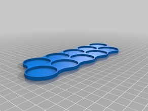 Movement tray 10 x 32mm (Long)