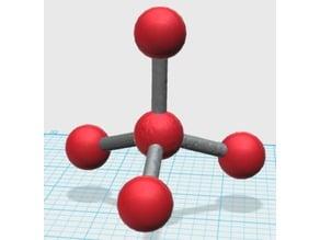 Molecular Structure (Tetrahedral)