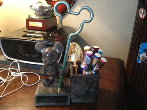 Mickey Mouse Desktop organizer