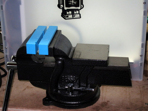 Soft Jaws For Bessey Bv Hd40 4 Inch Heavy Duty Bench Vise From Home