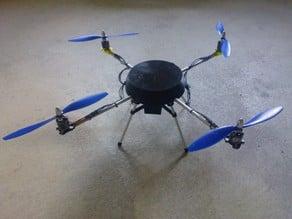 Cheap DIY Quadrocopter