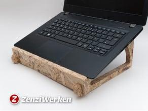 Flexible Interlocking Laptop Stand cnc