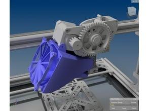 K8200 80mm Fan duct for E3D V6