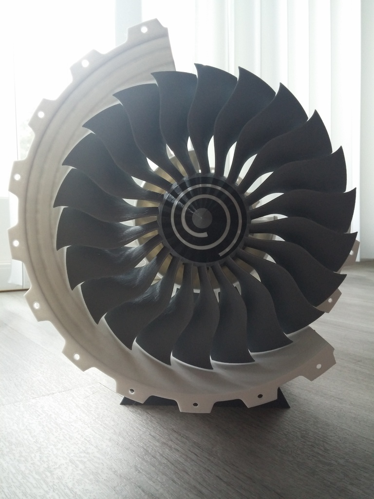 3D Printable Jet Engine by CATIAV5FTW - Thingiverse