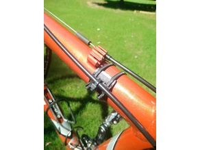 Heat-Fit Bike Brake Cable Housing/Hydraulic Line Guide