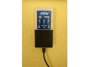 """ESP8266 Weather Station with 2.2"""" TFT Screen (WiFi)"""