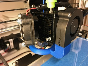 Anet A8 Extruder Fan Hinge (Flexible Filament)