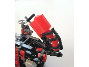Lego Technic shooter magazine extension mindstorms