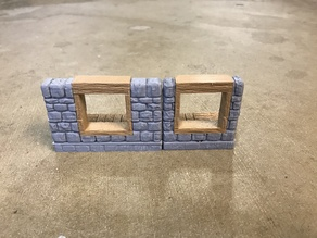 OpenForge Dungeon Stone Windows - Low and High