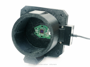 Canon EF/EF-S mount to Logitech C270 adapter