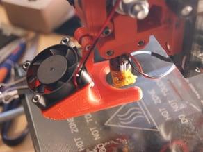 J-Head Fan Duct for Wade L3K Extruder (Prusa i3 rework)