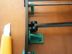 Holders for hot bed (Anet A6 printer)