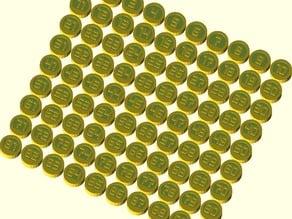 Tombola (Bingo) parametric counters set