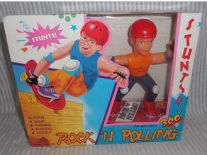 NIB Stunts 360 Rock N' Rolling skateboard battery cover