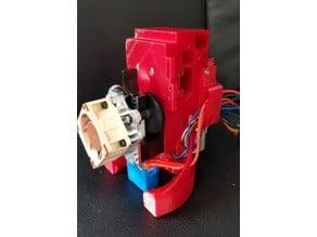 Railcore II ATX cable Splitboard PCB mount