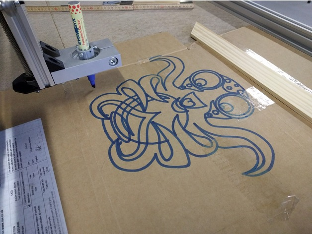 Octoprint logo in dxf by b2vn for 15 metrotech center 7th floor brooklyn ny 11201