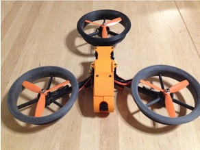 5 & 6 Inch Ducts for Tricopter Mini / Baby, (Fusion 360)