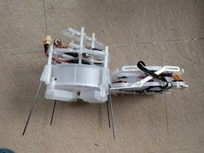 Folding singlecopter