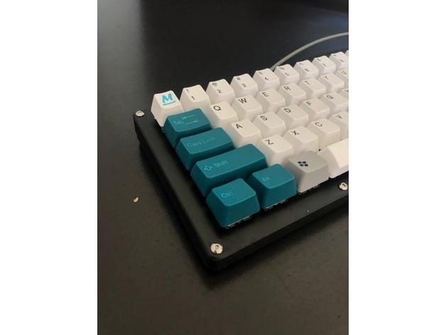 Custom 68-Key Mechanical Keyboard Case by JustinK - Thingiverse