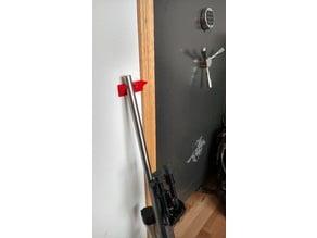 Vertical gun rest