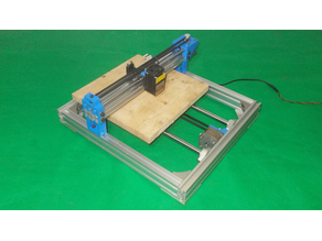 034-Homemade Laser Draw Mill Plotter 3D Printer Arduino Robotic Drawing DIY XY Axis Slide Linear Frame