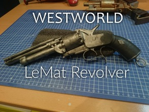 Westworld inspired Man in Black's LeMat Revolver