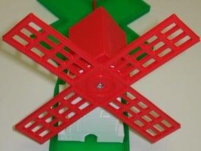 Alternative Energy Windmill - Battery Powered