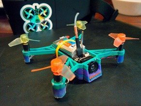 Lightweight Micro Drone Brushed 6mm Motors