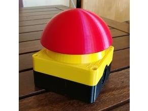 Buzzer / big red button / emergency button (Grobhandtaster / Not-Aus)