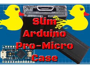 """Slim Arduino Pro Micro / Leonardo Case! """"DuckDuino"""""""
