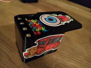 Geomag magnetic sticks and balls box