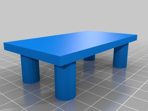 Simple table for doll house
