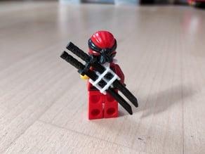 Lego Ninjago Schwerthalter / Sword holder
