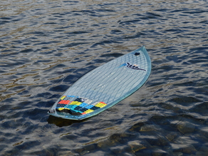 3D Printed (fully functional) surfboard