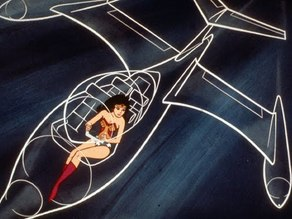 Wonder Woman's Invisible Airplane