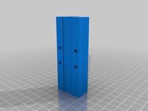 Super long LM8UU linear bearing holder (90mm)
