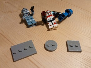 LEGO - Compatible Minifigure Stand