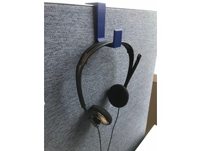 Cubicle Wall Headset Hook
