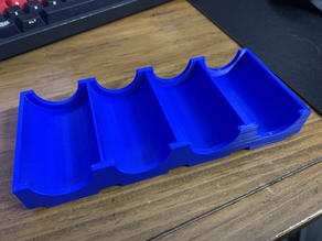 Poker Chips Tray for 80 chips / 20 per stack