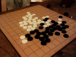goban (go board) and pieces