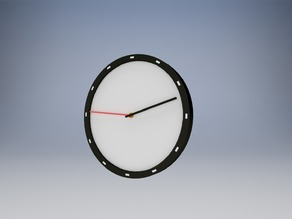 Simple Minimalist Clock for 15/16 Inch Hand Shaft Length