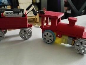 tren de juguete imprimible