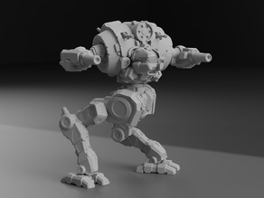 UZL-2S Uziel for Battletech