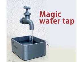 Magic water tap