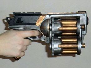 Tri Barrel 18 shot Nerf Maverick cylinder mod