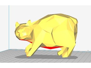 Low Poly Manx Mao